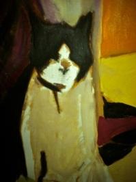Dyan Triptych - detail, Oreo in oil. 1989